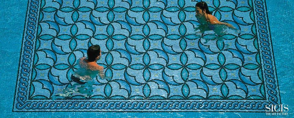 sicis logo con immagine di piscina