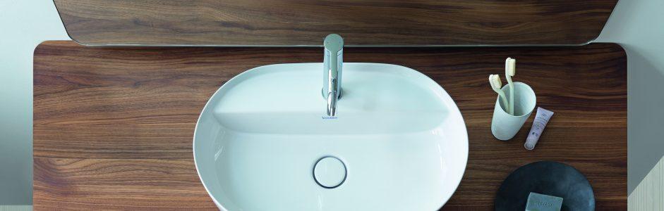 Lavabo da appoggio in bagno: caratteristiche, materiali e vantaggi