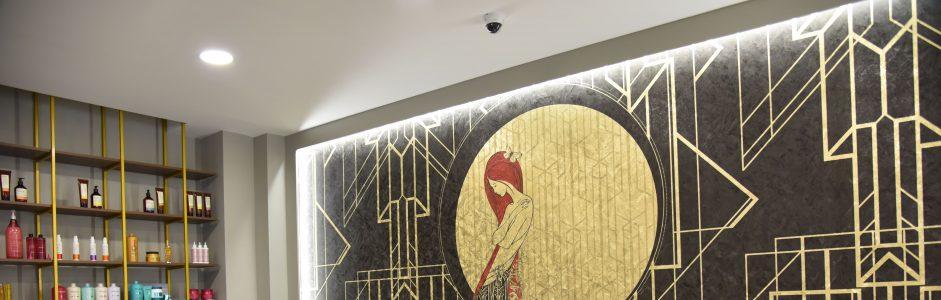 Progetti Esagono: un salone di bellezza dallo stile unico