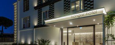 Progetti Esagono: Hangar Hotel, un business hotel in stile industriale